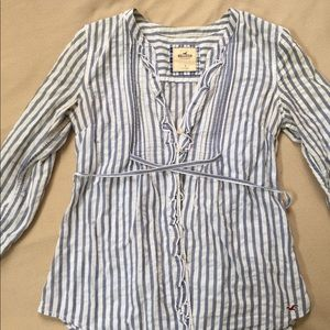 Striped Hollister button down